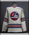 Bobby Hull's jersey with the Winnipeg Jets