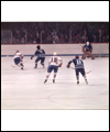 Bobby Hull scoring his 50th goal in 50 games in the WHA