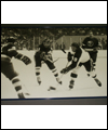 Bobby Hull (#9) in game action