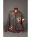 New York Americans' hockey jacket worn by Lionel Conacher