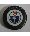 Puck signed by Wayne Gretzky